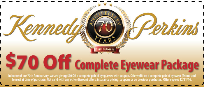 70th Anniversary Savings at Kennedy & Perkins