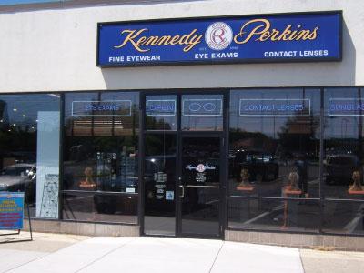 Kennedy & Perkins eye doctor branford connecticut location