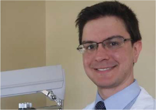 Dr. Julian Vermund ocular disease specialist at Kennedy & Perkins