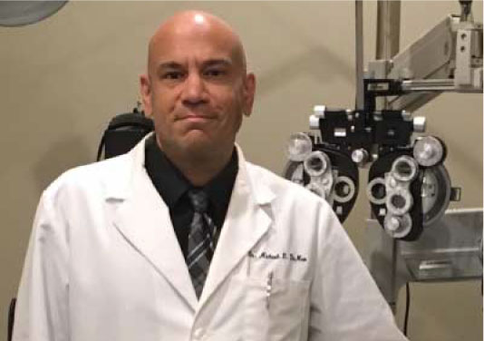 Dr. Michael Demeo primary eye care optomitrist at Kennedy & Perkins