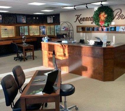 Kennedy & Perkins optometrist office lobby