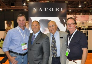 Rick Kennedy and Dart Mesick at las vegas vision expo west trade show